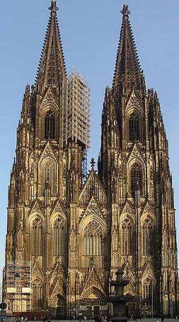 ケルン大聖堂ファザード